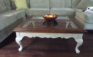 coffee table restoration, painted furniture