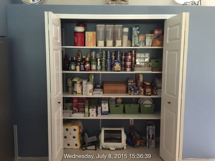 Lovely Turn A totally Useless Kitchen Space into Massive Pantry | Hometalk LW45
