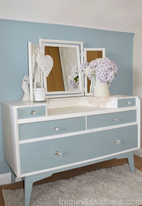 dressing table makeover repurposing upcycling, bedroom ideas, how to, painted furniture, repurposing upcycling