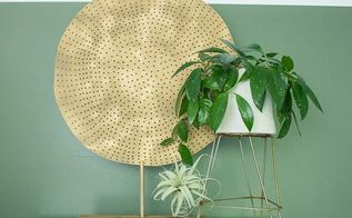 diy round medallion art how to, crafts, how to