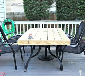 Wonderful Outdated Patio Set Rustic Makeover, Decks, Diy, Outdoor Furniture, Rustic  Furniture