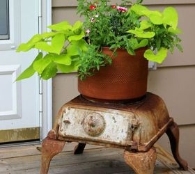Garden Decor Ideas From Junk, Landscape, Outdoor Living, Repurposing  Upcycling