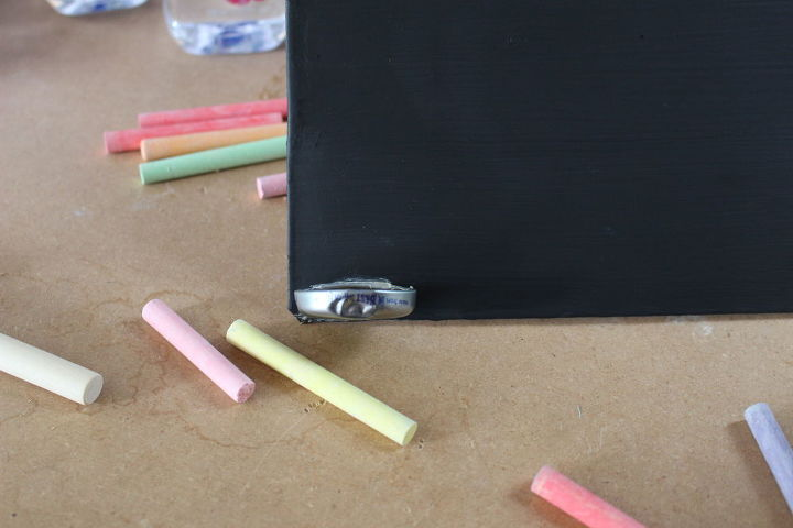 a diy magnetic chalkboard how to, chalkboard paint, crafts, repurposing upcycling