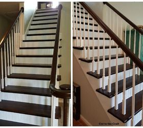 No More Carpet Staircase Reveal, Diy, Flooring, Stairs, And Some More Angles