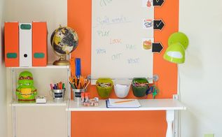creating a homework station, bedroom ideas, shelving ideas