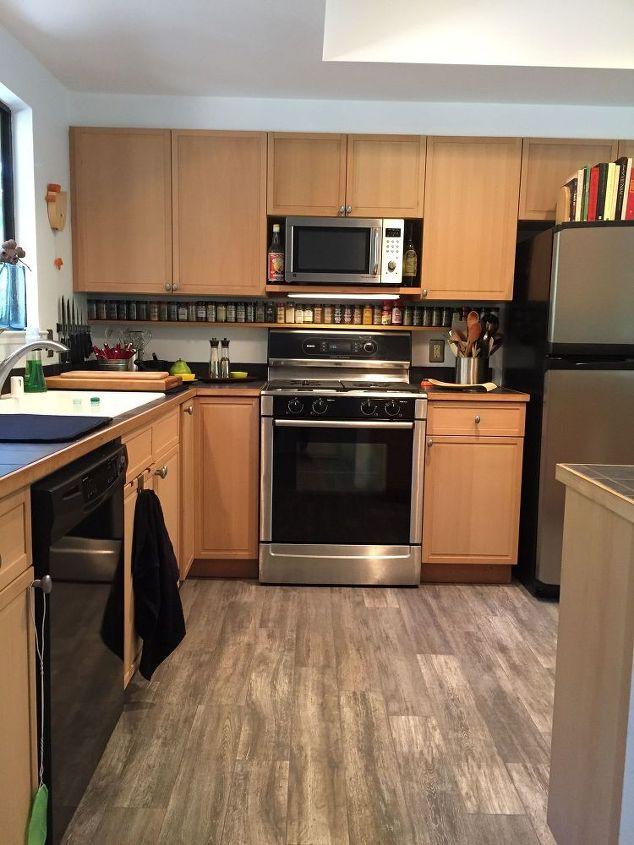 rustic kitchen flooring. Rustic Kitchen Flooring Floor Renovation Hometalk White Design Dark Barnwood