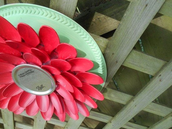 Plastic Spoon Garden Flowers How To Crafts Repurposing Upcycling