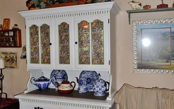 Old Hutch Gets a Shabby Chic Face Lift