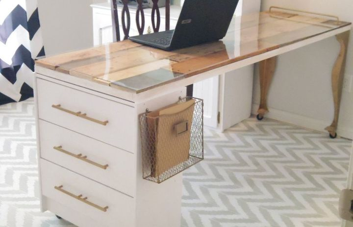 ikea rast hack new craft room table diy, craft rooms, diy, painted furniture, woodworking projects