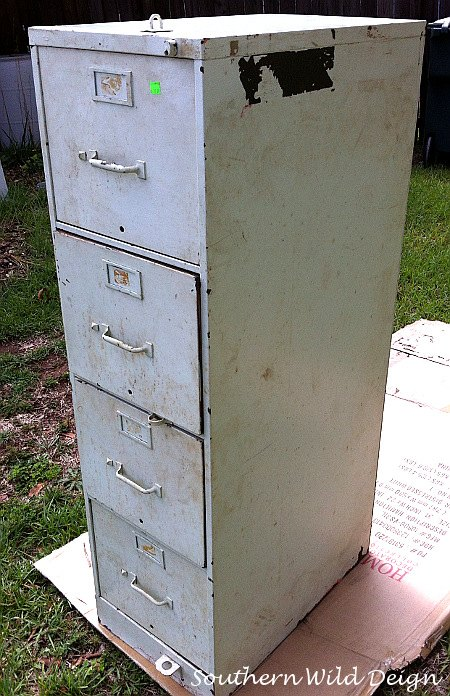 Filing Cabinet To Garden Planter Container Gardening How