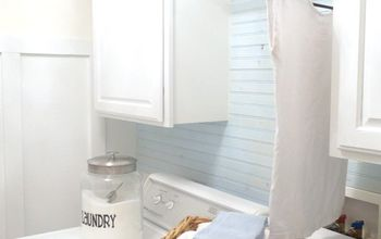 A Laundry Room Budget Makeover (even the Dog Can Approve Of)