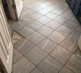 Carpeted Bathroom Gets A New Tile Floor, Bathroom Ideas, Diy, Flooring,  Tiling Part 74