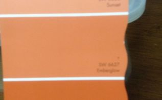q front door color, curb appeal, doors, paint colors, painting, I m considering the top shade of orange