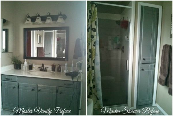 master suite makeover and guest bath too, bathroom ideas, bedroom ideas, small bathroom ideas