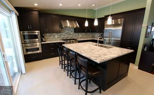 rowland heights design build transitional kitchen remodel, home decor, home improvement, kitchen design
