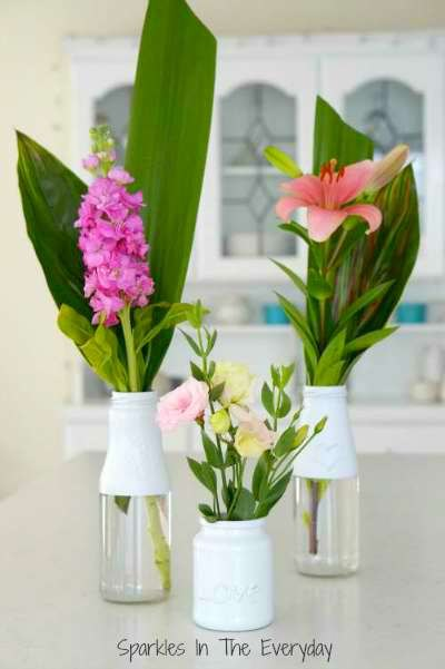 Diy How To Recycle Bottles To Beautiful Flower Vases Hometalk
