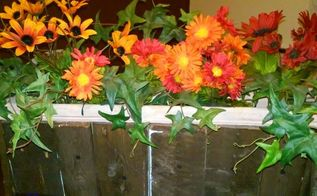 pallet covered planters, container gardening, gardening, pallet, repurposing upcycling