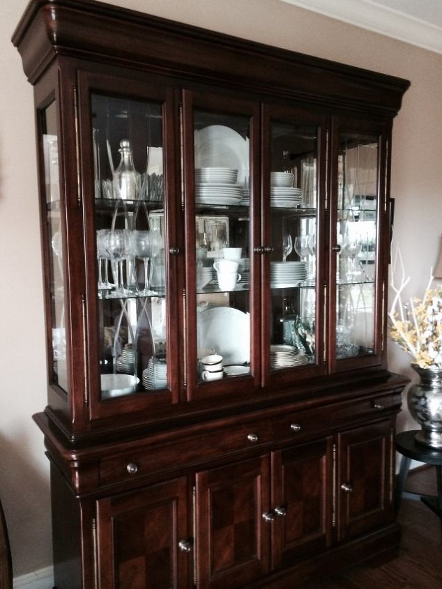 Painting A China Cabinet Chalk Paint Painted Furniture
