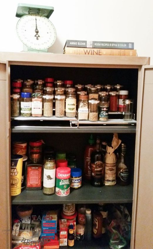 creative pantry solution for small spaces hometalk. Black Bedroom Furniture Sets. Home Design Ideas