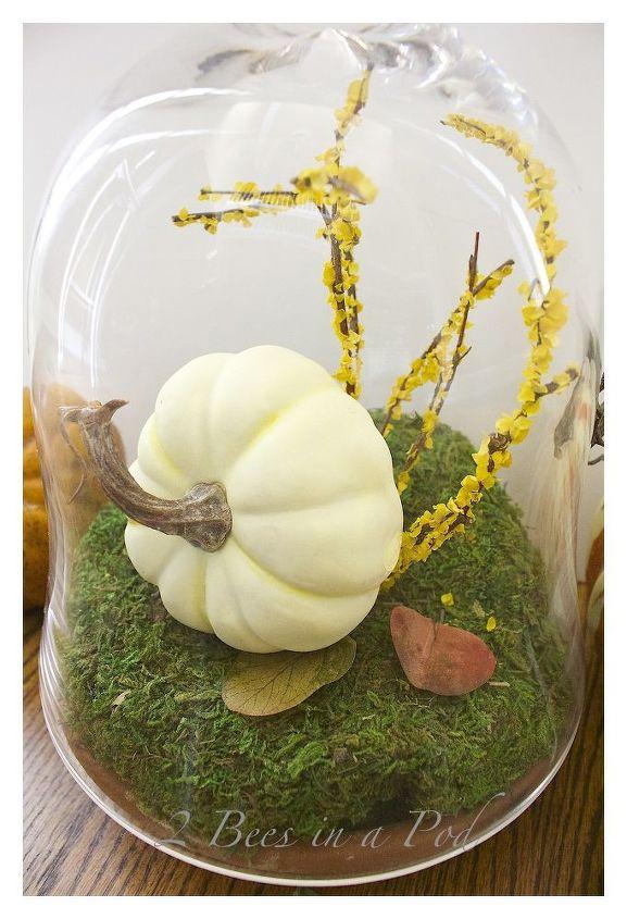 diy fall terrarium, crafts, gardening, home decor, seasonal holiday decor, terrarium