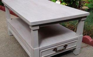 estate sale makeover vintage end table, painted furniture