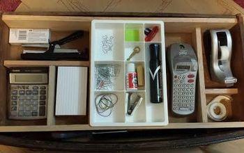 custom desk organizer, organizing