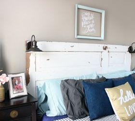 Beau Diy Vintage Door Headboard, Bedroom Ideas, Diy, Doors, Home Decor, Rustic