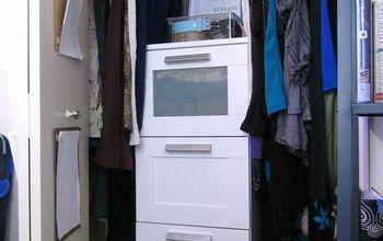 Bedroom Closet Reveal