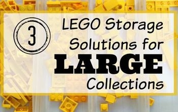 3 lego storage solutions for large collections, organizing, storage ideas