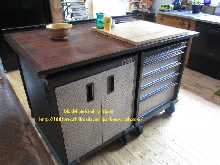 Using Tool Chests Or File Drawers As Cabinets In A Van Or
