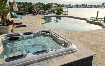 Turning a Portable Hot Tub Into an Elegant Spa That Looks Custom