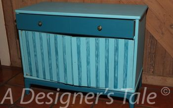 The Foyer Chests Get a Makeover