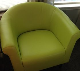 Charmant Changing The Color Of Vinyl Chairs Hometalk