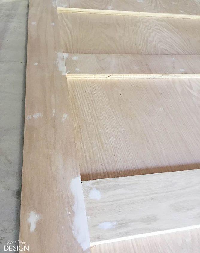 build it contemporary 4 panel barn door for 50, diy, doors, woodworking projects