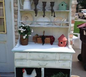 Superior How I Turned An Old Maple Hutch Into A Garden Beauty, Outdoor Furniture,  Painted