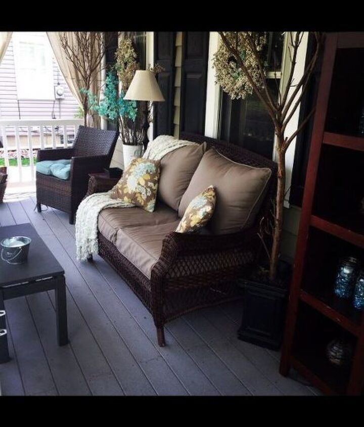 summer porch, outdoor furniture, outdoor living, porches