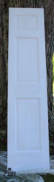 diy chalk magnet board door, chalkboard paint, crafts, doors, home decor