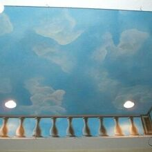 5 great ceiling transformations that will wow your guests, painting, wall decor, Hand Painted mural