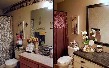 Glam Guest Bath Makeover