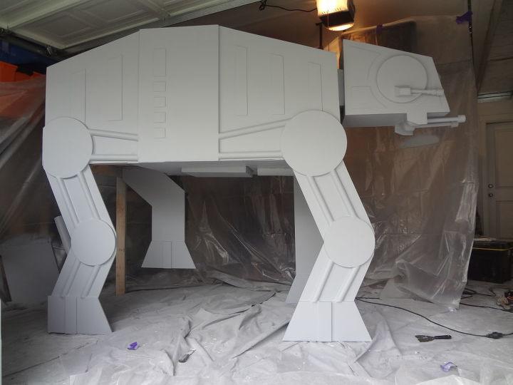 s these amazing children s beds will impress your inner child, bedroom ideas, Star Wars At At bed