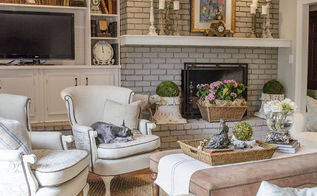 Transforming A Family Room In Vintage French Country Home Decor