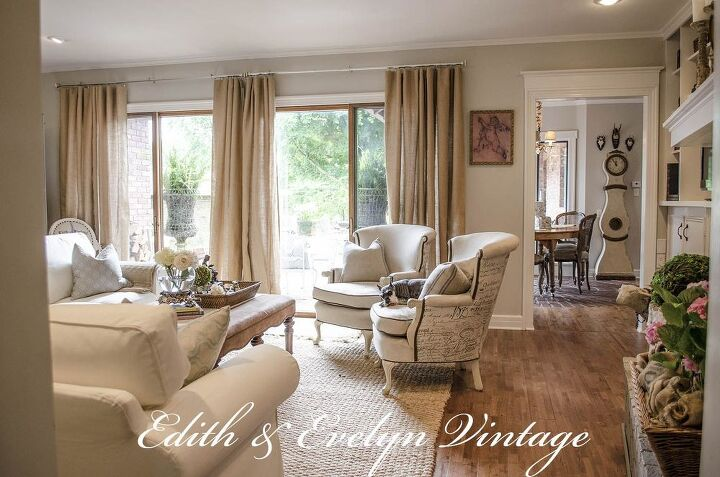 Transforming a Family Room in a Vintage French Country Home | Hometalk
