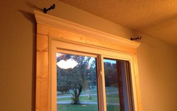 a diy tutorial on window trim, diy, how to, windows, woodworking projects