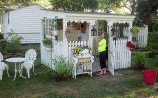 backyard retreat, diy, outdoor living