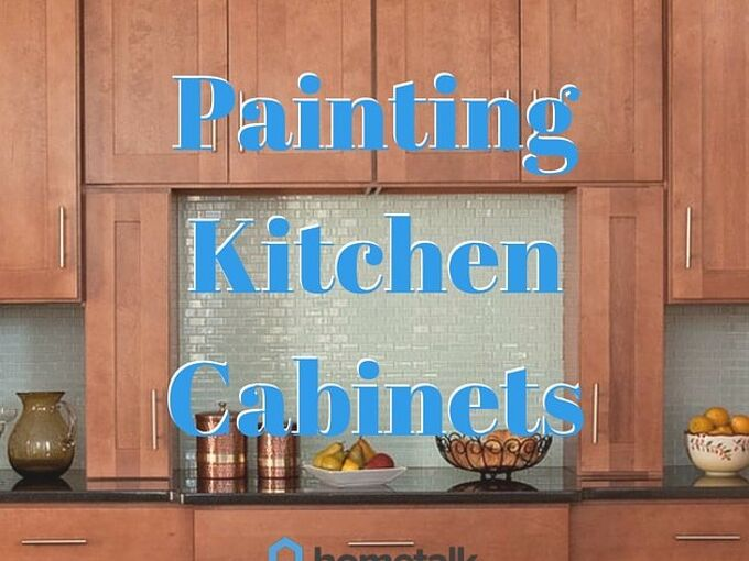 project guide painting kitchen cabinets, diy, how to, kitchen cabinets, kitchen design, painting