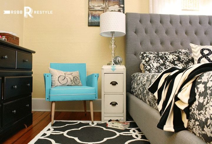a desk divided, bedroom ideas, home decor, painted furniture, repurposing upcycling