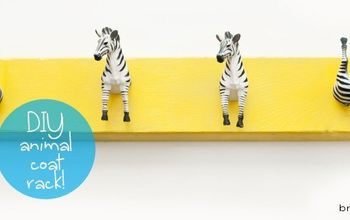 Make a DIY Animal Coat Rack!