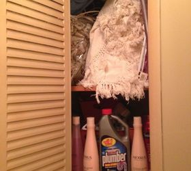 Basically It Is A Small And Dark Closet So Visibility Is Low. I Am Looking  For Ideas To Organize It That Would Increase The Visibility   And Stop  Using The ...