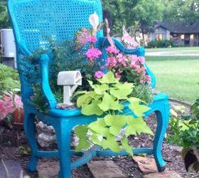 Garden Chair Planter, Gardening, Repurposing Upcycling ...