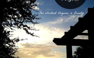 easy diy backyard pergola, decks, diy, how to, outdoor living, patio, woodworking projects